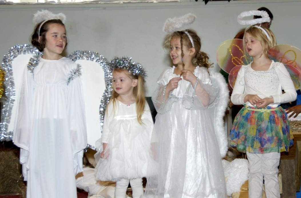 Angels for Christmas pageant