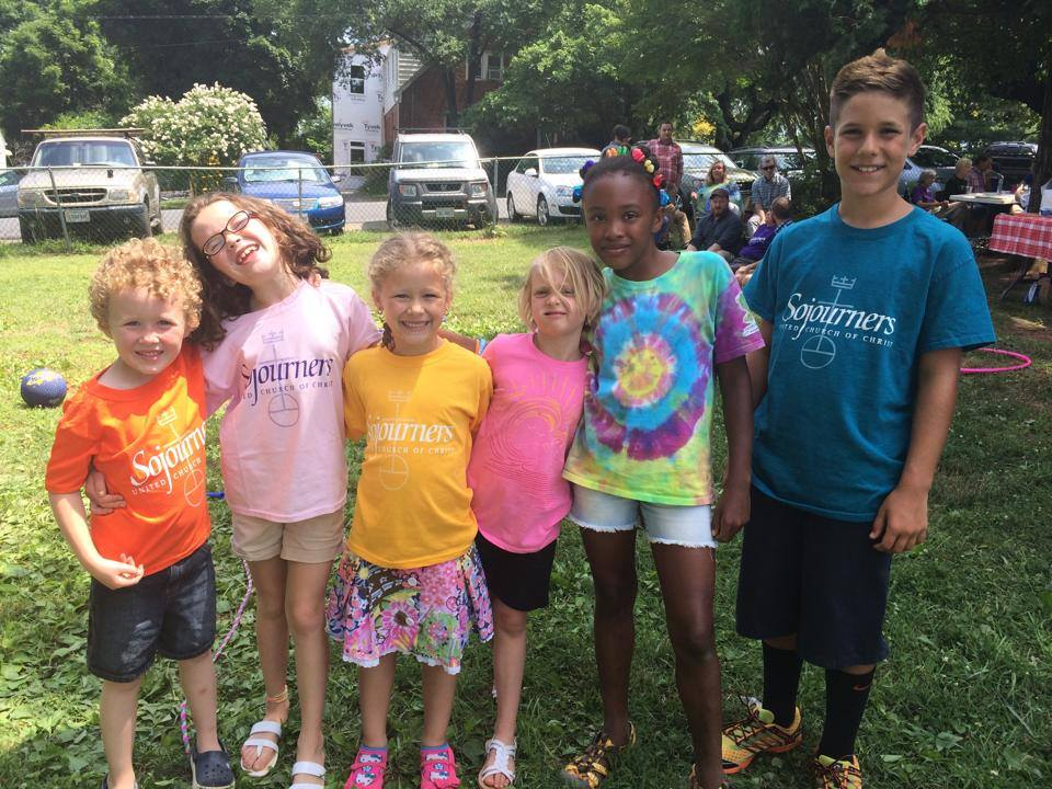Kids at Pride Picnic