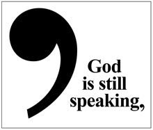 God is Still Speaking,